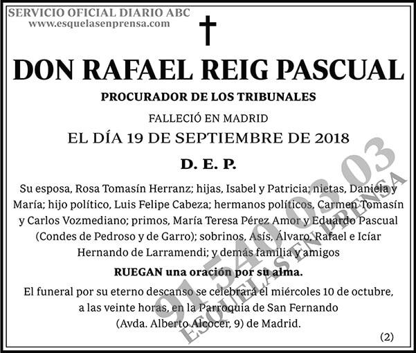 Rafael Reig Pascual